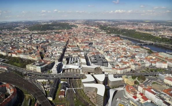 Penta - developerský projekt Central Bussines District, Masarykovo nádraží