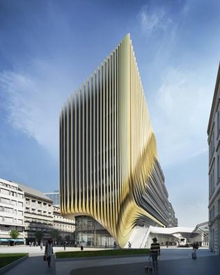 Penta - developerský projekt Central Bussines District, Masarykovo nádraží: Plaza