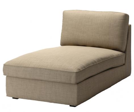 Jednomístná pohovka slenoškou Kivik, potah lze sundat avyprat, díly můžou stát samostatně, 180 x 163 x 83cm,  vyrábí Ikea, www.ikea.cz