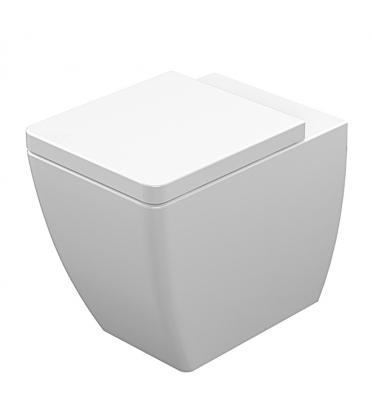 Výrobci nabízejí bidety aWC mísy jedné designové řady vprovedení jak stojícím, tak závěsném itzv. kombi mísy snádržkou. Stavebník tak není omezen způsobem instalace (Sapho, model Ego) (2)