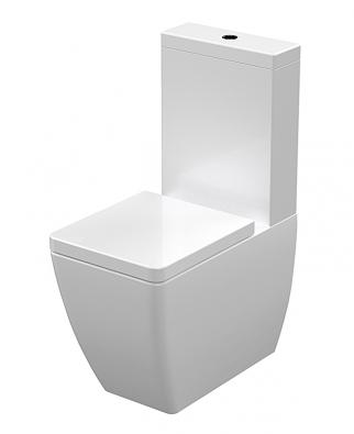 Výrobci nabízejí bidety aWC mísy jedné designové řady vprovedení jak stojícím, tak závěsném itzv. kombi mísy snádržkou. Stavebník tak není omezen způsobem instalace (Sapho, model Ego) (1)