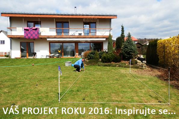 VÁŠ PROJEKT ROKU 2016: Novosádovi si letos na zahradě budují svou oázu klidu a relaxu.