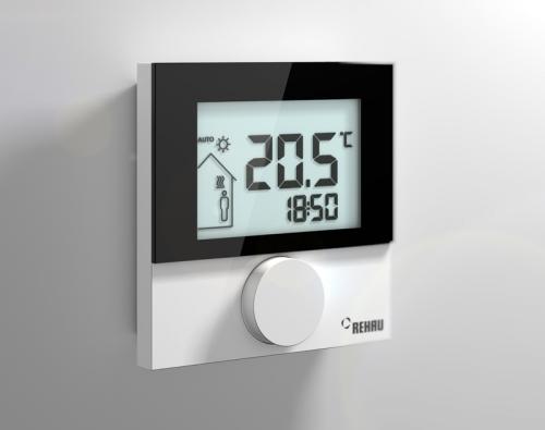 Dodatečné funkce termostatu usnadňují život uživatele.