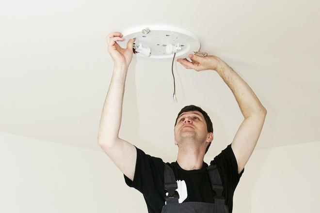 Návod: Lepení na strop