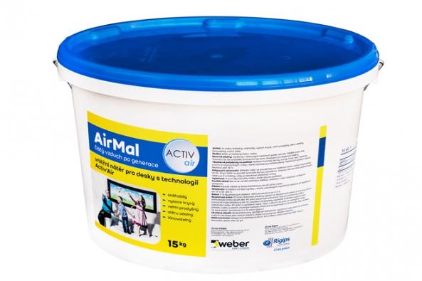 Za každých 20 sádrokartonových desek s technologií Activ'Air získáte 15kg balení interiérové barvy AirMal za 1 Kč.