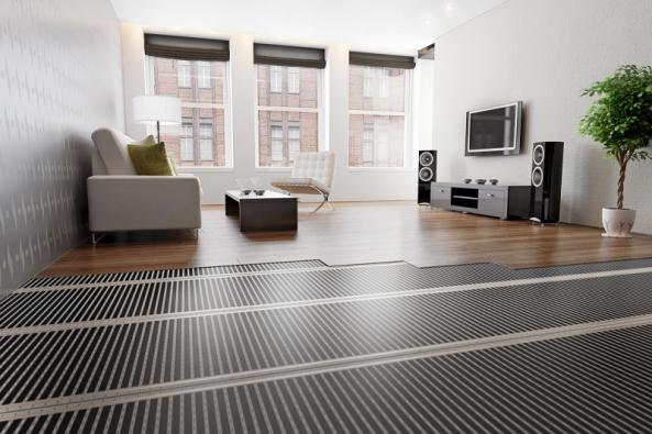 Topné fólie Ecofilm jsou určeny dosuchých konstrukcí – pod plovoucí podlahy nebo spoužitím doplňkových podložek pod PVC akoberce. Tloušťka topné fólie je jen 0,4mm! (FENIX)