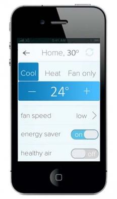 Aplikací v chytrém telefonu může každý nastavit teplotu v domě i na dálku.
