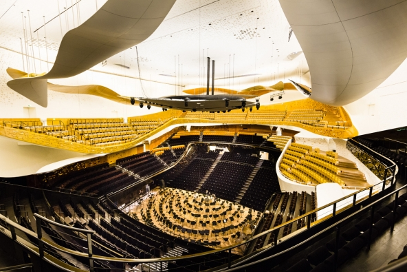Pařížská filharmonie, Francie