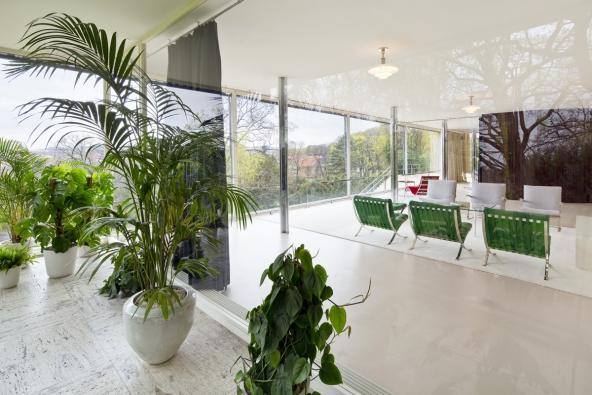 Vila Tugendhat, hlavní obývací místnost (Foto: RAKO, Tomáš Dittrich)
