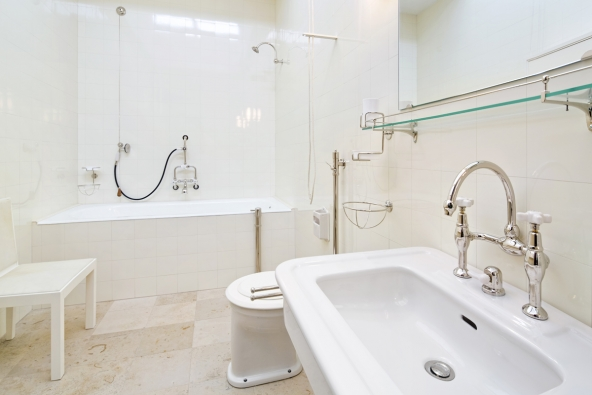 Vila Tugendhat, koupelna rodičů (Foto: RAKO, Tomáš Dittrich)