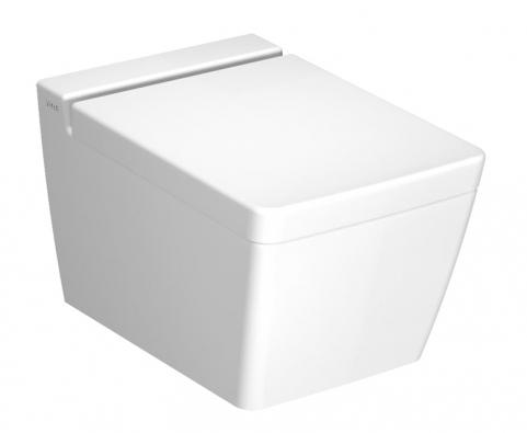 Závěsné WC T4, keramika, objem splachování 2,5/4 l, 34 x 54 x 34cm, vyrábí VitrA, www.siko.cz