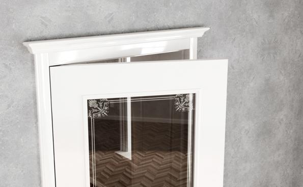 Rustikální dveře VERONA, novinka v nabídce dveří HANÁK - detail