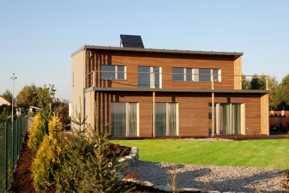 První Multi-komfortní dům ISOVER v ČR stojí v Srchu u Pardubic. (SAINT-GOBAIN)