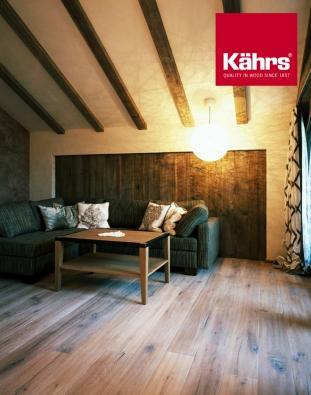 Dřevěná podlaha KÄHRS, www.kpp.cz