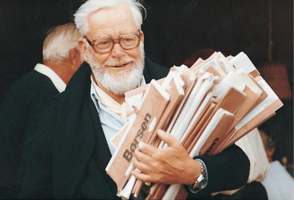 Villum Kann Rasmussen, zakladatel společnosti VELUX a vynálezce moderních střešních oken; zdroj: VELUX Česká republika