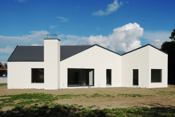 Rodinný dům v Chlumci (Foto ROCKWOOL.cz)