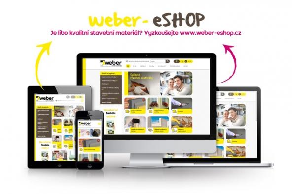 Weber, výrobce a prodejce stavebních materiálů, spouští e-shop pro vybraný sortiment stavebních materiálů.