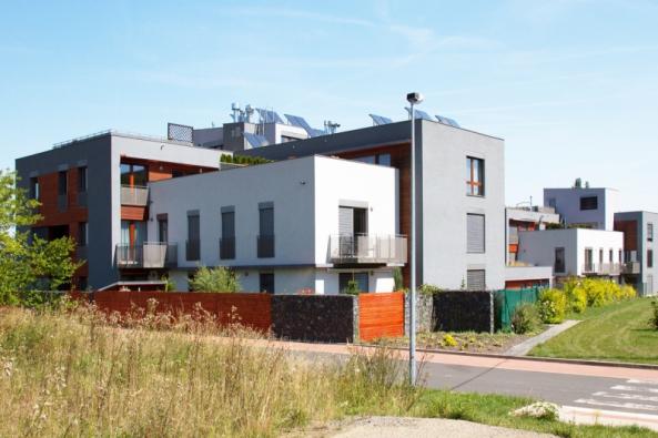 Viladomy U Obory – areál nízkoenergetických domů (VAPIS)