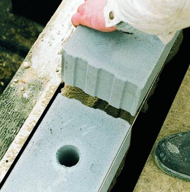 Izolační blok VAPIS IZO do patní vrstvy zdiva snižuje tepelné ztráty po celou dobu existence stavby.