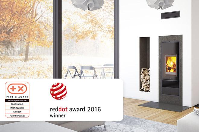 Schiedel: Komín a kamna s cenou za design Red Dot Award