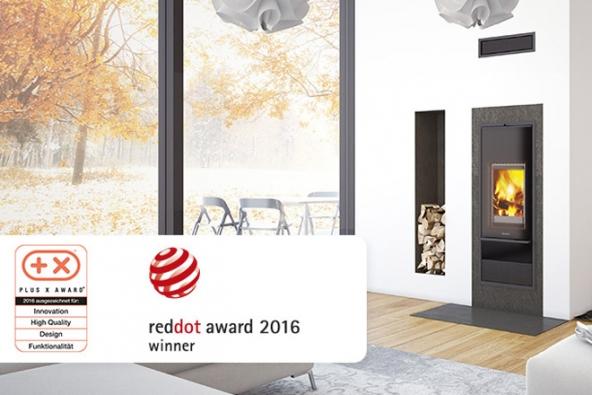 Společnost Schiedel získala prestižní cenu Red Dot Award za model Kingfire Lineare a Kingfire Rondo.