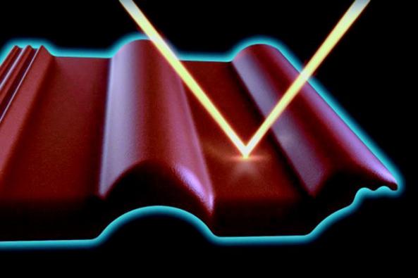 Technologie STAR zvyšuje ochranou schopnost a odolnost krytiny před extrémními vlivy počasí a zajišťuje dlouhodobou stabilitu její původní barevnosti. Speciální, do povrchu integrované pigmenty odráží část infračerveného záření a tím omezují přehřívání střechy a podkroví. (BRAMAC)