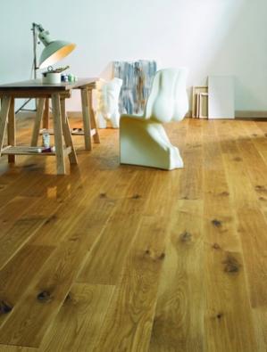 Dřevěná podlaha 1FLOOR, kolekce Newline, dekor Dub Alpine - Prodává KPP