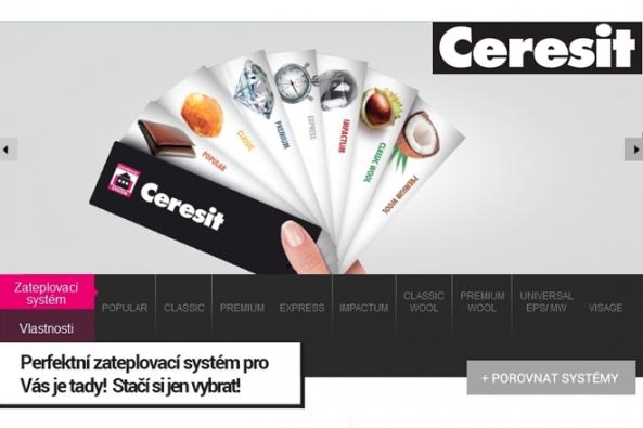 Nová aplikace pro volbu ETICS Ceresit Ceretherm