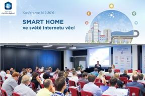 Minulý týden proběhla v reprezentativních prostorách hotelu Grandior v Praze konference SMART HOME ve světě Internetu věcí. Toto téma přilákalo více než stovku zájemců z řad architektů, projektantů a dalších tvůrců moderního bydlení.
