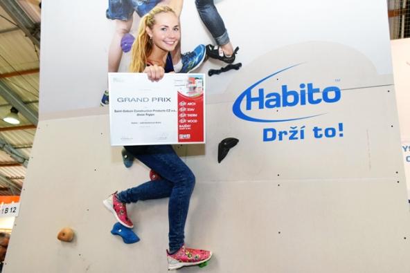 Vysokopevnostní deska Habito od společnosti Rigips získala uznávané ocenění Grand Prix stavebního veletrhu FOR ARCH.