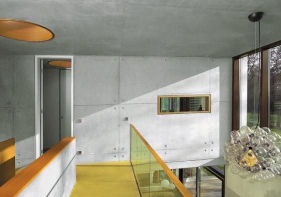 Interiérové stěny z pohledového betonu získávají na oblibě (ČESKOMORAVSKÝ BETON)