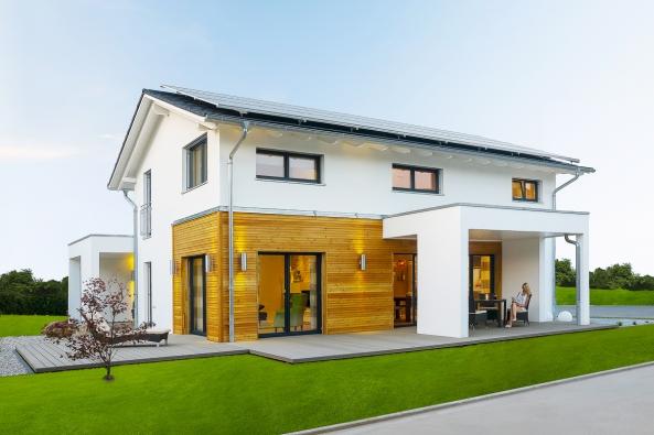 Jubilée, jeden z nejoblíbenějších patrových domů společnosti Haas Fertigbau.