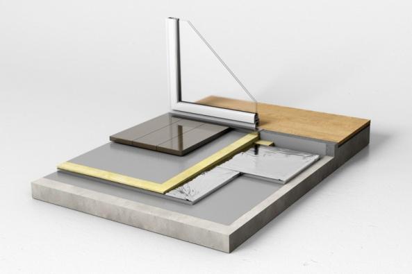 Vakuová izolace Kingspan Optim-R nabízí výjimečnou tepelnou izolaci při nepatrném navýšení tloušťky konstrukce.
