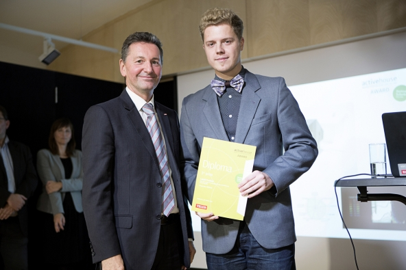 Active House Award - 1. místo: Lukáš Kvaššay, Vysoké učení technické v Brně, Fakulta architektury (Foto: Patricia Weisskirchner)