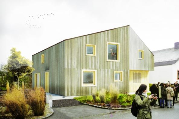 Active House Award - 1. místo: Lukáš Kvaššay, Vysoké učení technické v Brně, Fakulta architektury