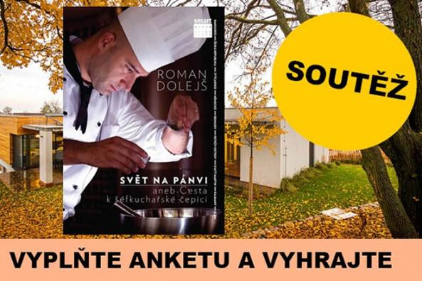 Na našem partnerském portálu Stavbadomu.net můžete nyní vyhrát originální českou kuchařku Svět na pánvi od Romana Dolejše, kterou vydalo nakladatelství Smart Press.