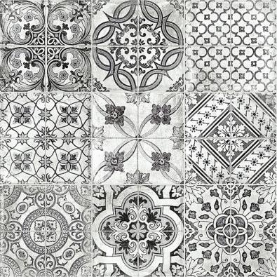 Dostylového interiéru se bude hodit keramická dlažba Manises vbarvě Negro, 60 x 60cm, Geotiles, www.siko.cz