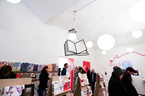 designSUPERMARKET 2016 - Kafkův dům, 8.-11.12.2016 (Výběrové knihkupectví)
