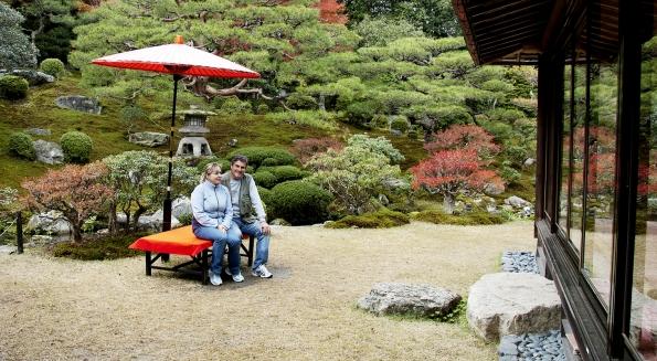 Manželé Romana a Pavel Číhalovi se zajímají o japonské zahrady od roku 1990.