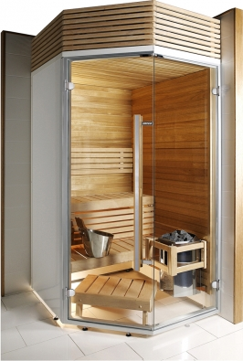 Typová kabina pro finskou saunu Harvia Sirius, www.spa-virivky.cz