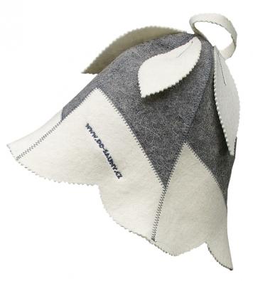 Čepice pro ochranu hlavy avlasů Handbell, 100% vlna, www.do-sauny.cz