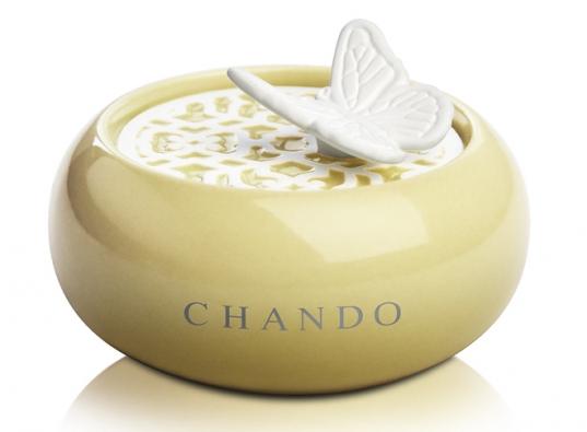 Mini aroma difuzér naprovonění šatní skříně či prádelníku, vyrábí Chando, vceně náplň oobjemu 10ml, www.bytove-parfemy.cz