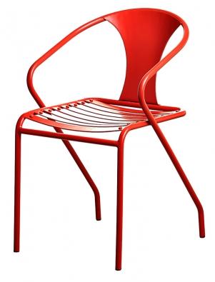 Kovová židle vindustriálním stylu,  76 x 43 x 50cm, Homelove, www.homelove.cz