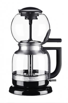 Sifonový kávovar Artisan 5KCM0812E automatizuje manuální proces vakuového vaření kávy, KitchenAid, www.kitchenaid.cz