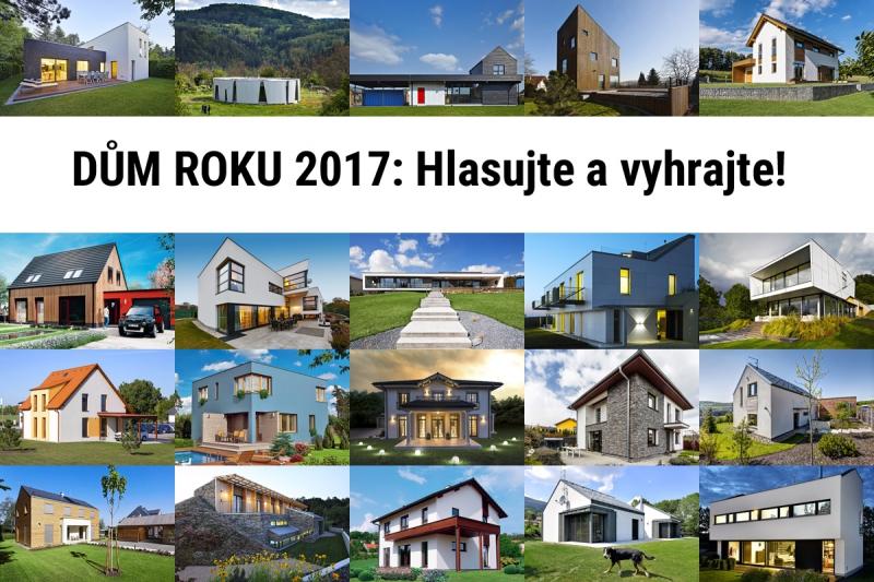 Vyhlašujeme tradiční anketu DŮM ROKU 2017