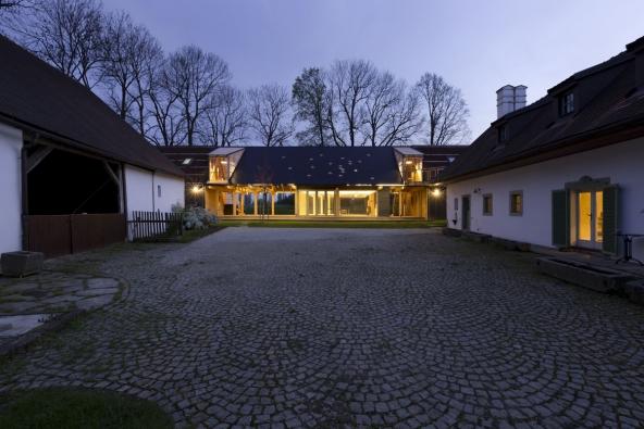 Venkovská usedlost Maneschowitz (Manešovice) / A1 Architects (nominovala ČKA). Foto: archiv autorů