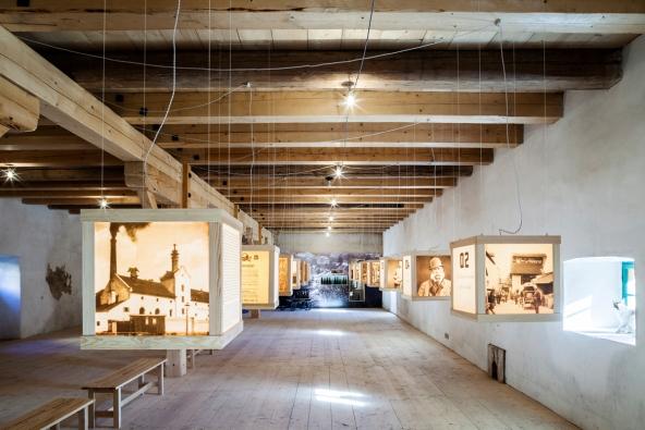 Obnova pivovaru v Lobči u Mšena / RIOFRIO Architects (nominovala ČKA). Foto:  Andrea Thiel Lhotáková