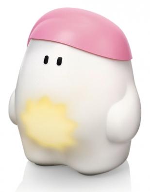 Dětská lampa Buddy (Philips) je intuitivní svítidlo, které se snadno ovládá, má dotykové zapnutí alze uněj nastavit ranní nebo jemné noční světlo. www.supersvitidla.cz