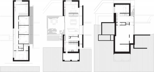 Půdorys domu (Zdroj: Grondal Architecture)