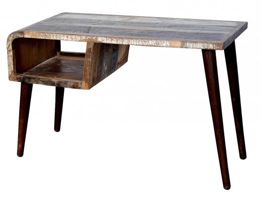 Psací stůl RetroSBA 5322, recyklovaný palisandr masiv, www.avinterieryshop.cz